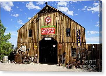 The Old Barn Canvas Print by Nina Prommer