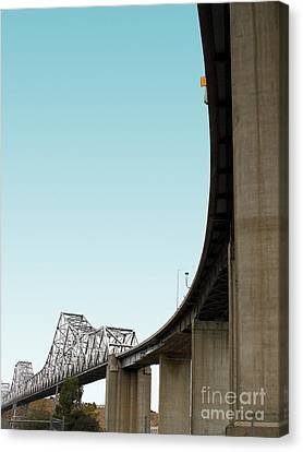 Benicia Canvas Print - The Old Carquinez Bridge . 7d8832 by Wingsdomain Art and Photography