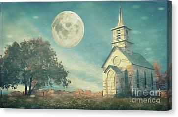 The Old Church House Canvas Print