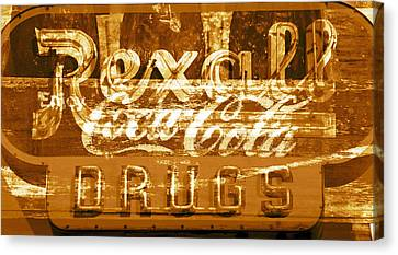The Old Corner Drugstore Canvas Print by David Lee Thompson
