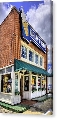 The Old Dairy Queen Canvas Print by JC Findley