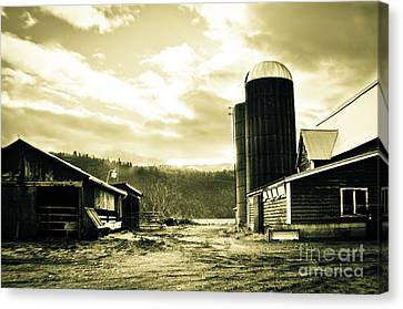 The Old Farm Canvas Print by Clayton Bruster
