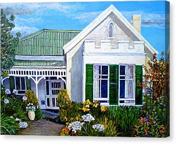 The Old Farm House Canvas Print by Michael Durst