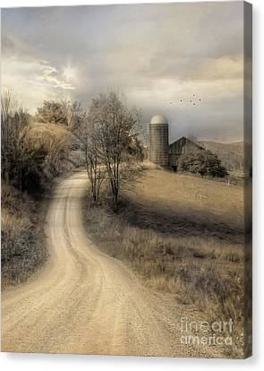 The Old Farm Canvas Print by Lori Deiter