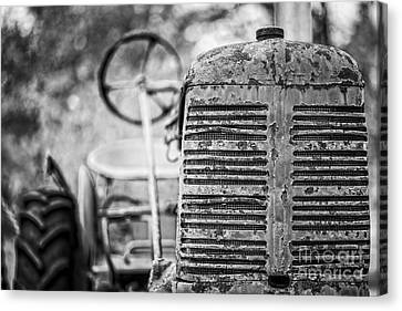 The Old Farm Tractor Canvas Print