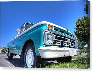 The Old Ford Canvas Print by Steve Gravano