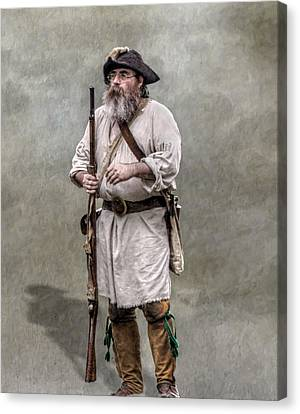 The Old Frontiersman   Canvas Print