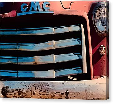 The Old Gmc At Pilar Canvas Print