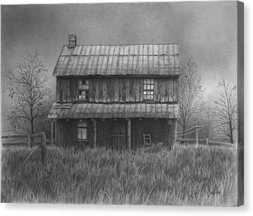 The Old Home Place Canvas Print by Ralph Cale