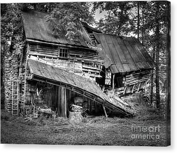 Canvas Print featuring the photograph The Old Homestead by Douglas Stucky