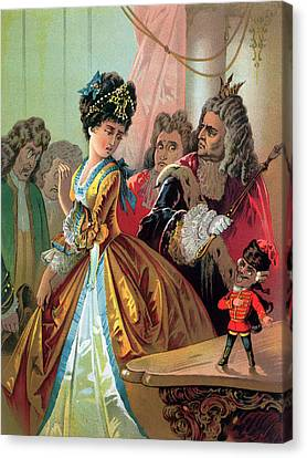 The Old King And The Nutcracker Prince Canvas Print by Carl Offterdinger