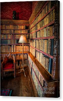 The Old Library Canvas Print by Adrian Evans
