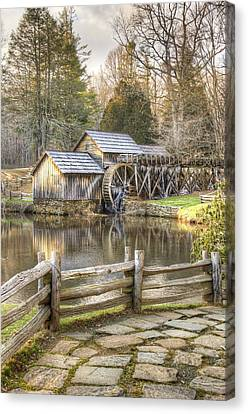 The Old Mabry Mill - Blue Ridge Parkway - Virginia Canvas Print