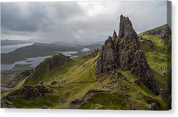 The Old Man Of Storr, Isle Of Skye, Uk Canvas Print
