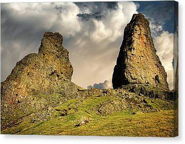 Old Man Canvas Print - The Old Man Of Storr by Nichola Denny
