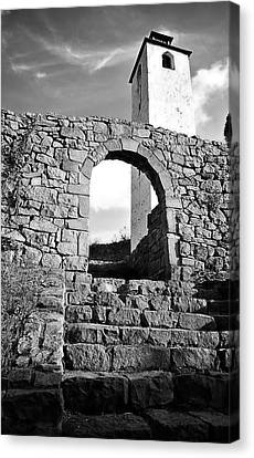 The Old Medieval Fortress Canvas Print