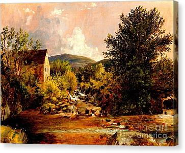 The Old Mill 1847 Canvas Print