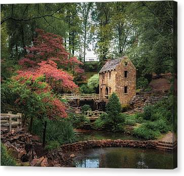 The Old Mill 5x6 Canvas Print by James Barber