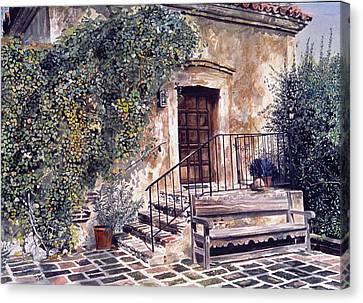Gabriel Canvas Print - The Old Mill El Molina Viejo by David Lloyd Glover