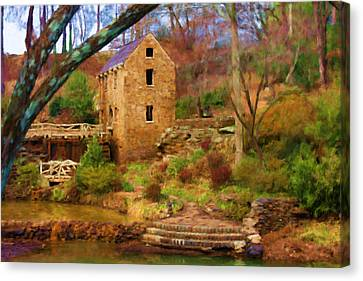 The Old Mill Canvas Print by Renee Skiba