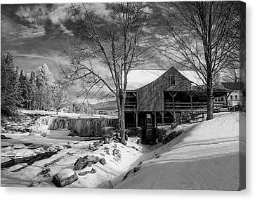 The Old Mill - Weston, Vermont Canvas Print