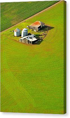The Old Place Canvas Print by Jerry Sodorff