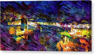 The Old Port Marseille 1 Canvas Print