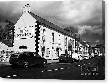 Old School Houses Canvas Print - the old school house tourist information office mill street Cushendall County Antrim Northern Ireland UK by Joe Fox