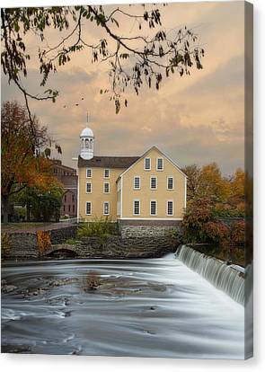 The Old Slater Mill Canvas Print