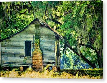 Slaves Canvas Print - The Old Slaves Quarters by Jan Amiss Photography