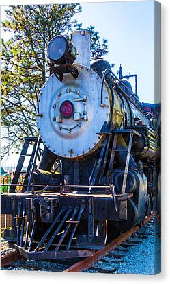 The Old Southern Pacific Lines Engine 90 Canvas Print by Garry Gay