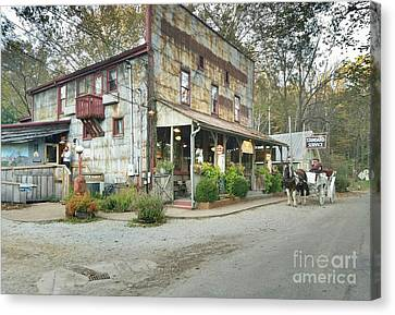 The Old Story Inn 1851 Nashville Indiana - Original Canvas Print