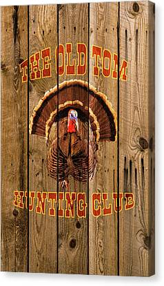 The Old Tom Hunting Club No. 3 Canvas Print by TL Mair