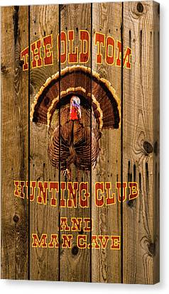 The Old Tom Hunting Club Canvas Print by TL Mair