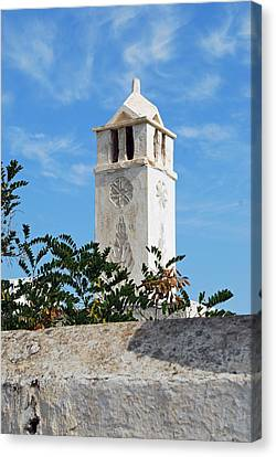 The Old Tower Canvas Print by Armand Hebert