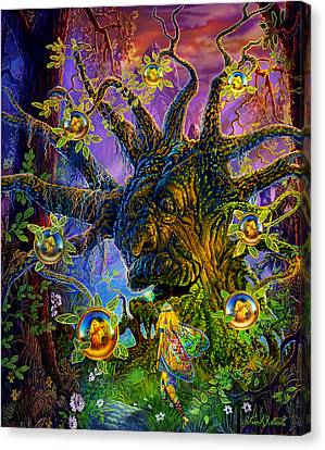 The Old Tree Of Dreams Canvas Print
