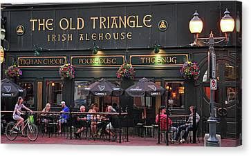 The Old Triangle Alehouse Canvas Print
