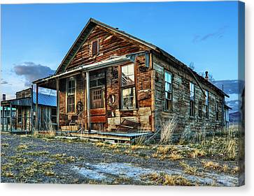 The Old Wendel General Store Canvas Print by James Eddy