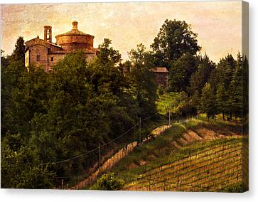 The Old World Canvas Print by Marilyn Hunt