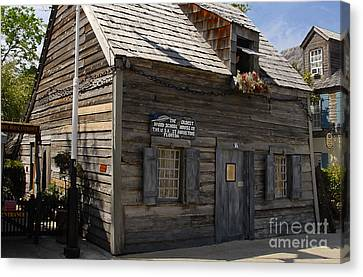 The Oldest School House Canvas Print by David Lee Thompson
