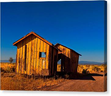 The Ole Yeller Shed Canvas Print by Laura Ragland