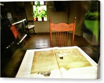 The Olson Chair Canvas Print