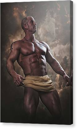 Canvas Print - The Olympian by Marcin and Dawid Witukiewicz