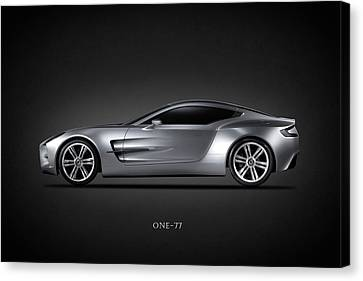 Sports Canvas Print - The One-77 by Mark Rogan