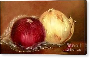 The Onions Canvas Print