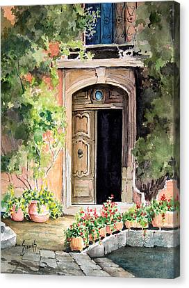 The Open Door Canvas Print by Sam Sidders