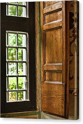 The Open Window Canvas Print by Lynn Andrews