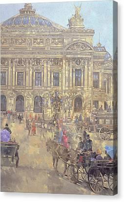 The Opera  Paris Canvas Print