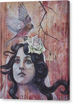 The Oracle Canvas Print by Sheri Howe