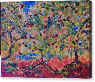 The Orchard Canvas Print by Karla Phlypo-Price